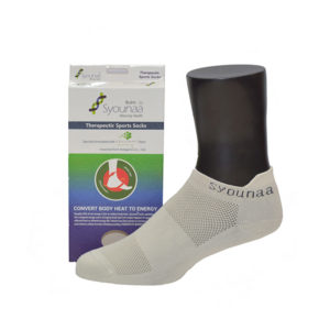 syounaa women socks on mannequin with packaging