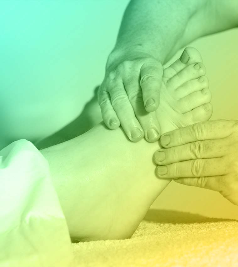 image of a foot massage